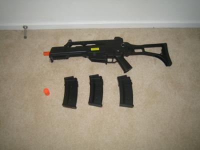 Airsoft Jing Gong MK36 Gun