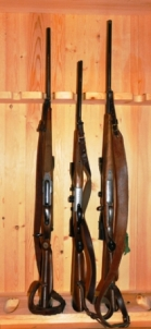Picture of a gun cabinet related to keeping or storing your Airsoft guns safely and properly