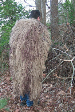 Camouflage Ghillie Suit - Hides Gun and Blends in Airsoft Player