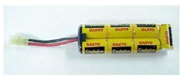 sanyo ni cad battery for airsoft guns 8.4 volts