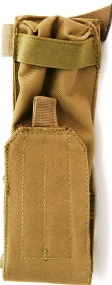 airsoft battery bag brown in color used to disguise airsoft battery in game play