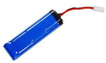 picture of an airsoft battery ni-cad for aeg and electric guns